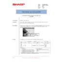 Sharp AR-M276 (serv.man86) Technical Bulletin
