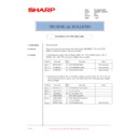 Sharp AR-M276 (serv.man88) Technical Bulletin