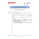Sharp AR-M276 (serv.man91) Technical Bulletin