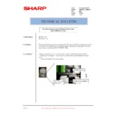 Sharp AR-M276 (serv.man92) Technical Bulletin