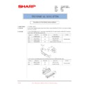 Sharp AR-M276 (serv.man94) Technical Bulletin