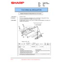 Sharp AR-M276 (serv.man95) Technical Bulletin