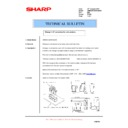 Sharp AR-M300 (serv.man21) Technical Bulletin