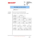 Sharp AR-M300 (serv.man22) Technical Bulletin