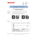 Sharp AR-M300 (serv.man26) Technical Bulletin