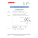 Sharp AR-M300 (serv.man28) Technical Bulletin
