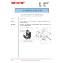 Sharp AR-M300 (serv.man29) Technical Bulletin