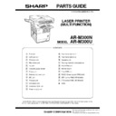Sharp AR-M300 (serv.man9) Parts Guide