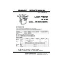 Sharp AR-M300 Service Manual