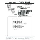 Sharp AR-M316 (serv.man13) Parts Guide