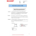 Sharp AR-M316 (serv.man39) Technical Bulletin