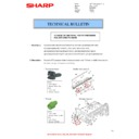 Sharp AR-M316 (serv.man40) Technical Bulletin
