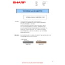 Sharp AR-M316 (serv.man43) Technical Bulletin