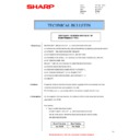Sharp AR-M316 (serv.man49) Technical Bulletin