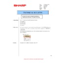 Sharp AR-M316 (serv.man52) Technical Bulletin