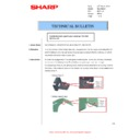 Sharp AR-M316 (serv.man54) Technical Bulletin