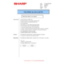 Sharp AR-M316 (serv.man58) Technical Bulletin