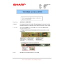 Sharp AR-M316 (serv.man68) Technical Bulletin