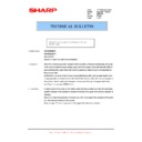 Sharp AR-M316 (serv.man74) Technical Bulletin