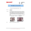 Sharp AR-M316 (serv.man75) Technical Bulletin