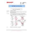 Sharp AR-M316 (serv.man76) Technical Bulletin