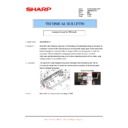Sharp AR-M316 (serv.man80) Technical Bulletin