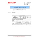 Sharp AR-M316 (serv.man81) Technical Bulletin