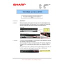 Sharp AR-M316 (serv.man84) Technical Bulletin
