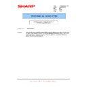 Sharp AR-M316 (serv.man87) Technical Bulletin