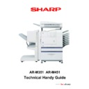 Sharp AR-M351N, AR-M451N (serv.man2) Handy Guide