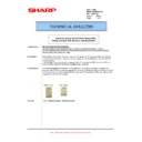 Sharp AR-M351N, AR-M451N (serv.man34) Technical Bulletin