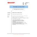 Sharp AR-M351N, AR-M451N (serv.man39) Technical Bulletin