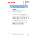 Sharp AR-M351N, AR-M451N (serv.man41) Technical Bulletin