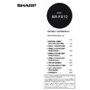 Sharp AR-M351N, AR-M451N (serv.man6) User Guide / Operation Manual