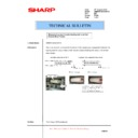 Sharp AR-M550 (serv.man101) Technical Bulletin