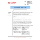 Sharp AR-M550 (serv.man104) Technical Bulletin