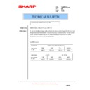 Sharp AR-M550 (serv.man106) Technical Bulletin