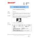 Sharp AR-M550 (serv.man109) Technical Bulletin