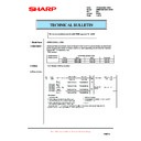 Sharp AR-M550 (serv.man111) Technical Bulletin