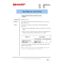 Sharp AR-M550 (serv.man112) Technical Bulletin