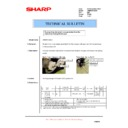 Sharp AR-M550 (serv.man121) Technical Bulletin