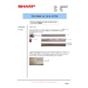 Sharp AR-M550 (serv.man131) Technical Bulletin