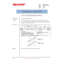 Sharp AR-M550 (serv.man135) Technical Bulletin