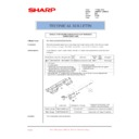 Sharp AR-M550 (serv.man136) Technical Bulletin