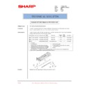 Sharp AR-M550 (serv.man139) Technical Bulletin