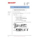 Sharp AR-M550 (serv.man144) Technical Bulletin