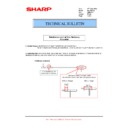 Sharp AR-M550 (serv.man62) Technical Bulletin