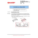 Sharp AR-M550 (serv.man73) Technical Bulletin