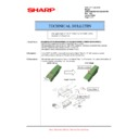 Sharp AR-M550 (serv.man83) Technical Bulletin