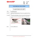 Sharp AR-M550 (serv.man86) Technical Bulletin